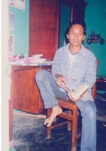 Foto Penulis (Khairil Miswar) Tahun 1999 di Banda Aceh