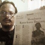 Mengintip Bedah Novel Kura-kura Berjanggut di Serambi Budaya